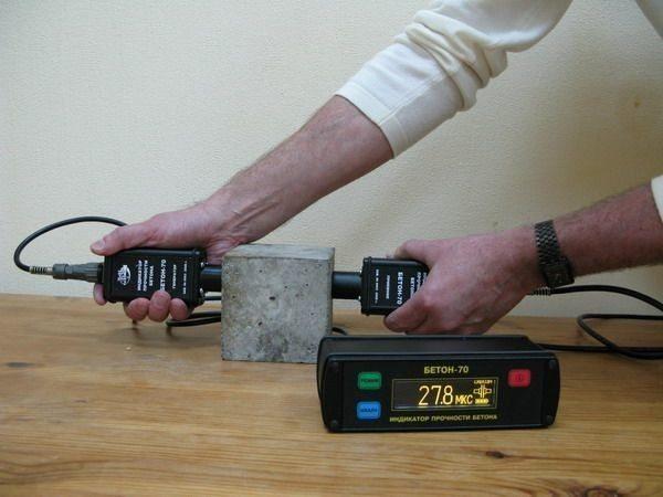 Проверка бетона ультразвуком глинозем бетон